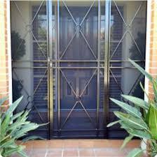 steel security door