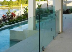 Glass pool fencing Melbourne